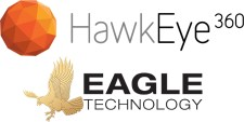 HawkEye 360 and Eagle Technology Logos