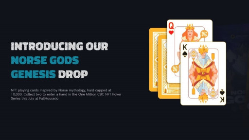Claim Free Norse Gods Genesis Playing Card NFTs Ahead of $60,000 Poker Series