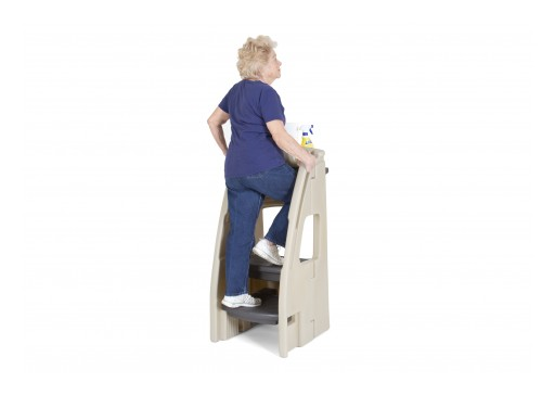 The Simplay3 Company Enhances Balance, Stability and Mobility in the Two-Step Ladder