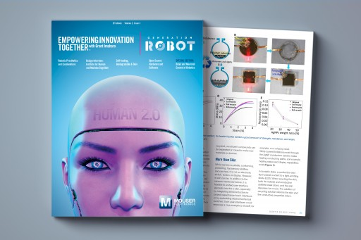 Mouser Electronics and Grant Imahara Release New 'Generation Robot' E-Book Exploring Human Augmentation With Robotics