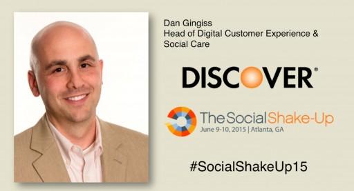 The Social Shake-Up Spotlight on: Dan Gingiss of Discover