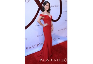 Olivia Applegate, star of Passionflix's 'Driven,' attends world premiere.