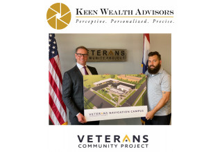 Keen Wealth Advisors Kick Starts Local Veterans Navigation Campus with $100,000 grant