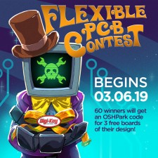 Flexible PCB Contest by Digi-Key and Hackaday