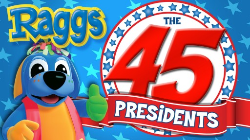 """The 45 Presidents"" NEW Song, Music Video and Activity Book Debuted Instantly After the Election!"