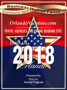 Orlandovacation.com Travel Award