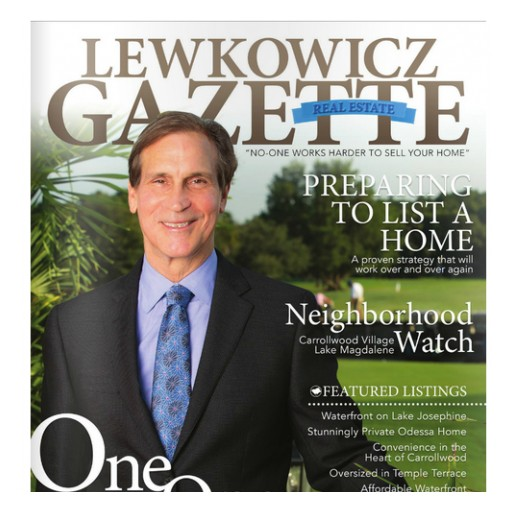 Realtor Joseph Lewkowicz Receives Rave Reviews for His North Tampa Real Estate Industry Expertise