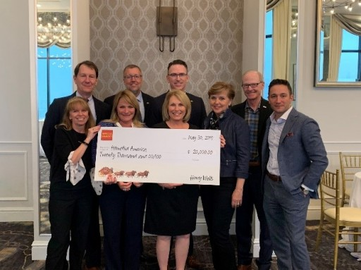 HomeAid Receives Support From Wells Fargo at PCBC