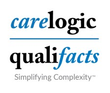 CareLogic-Qualifacts Stacked Logo