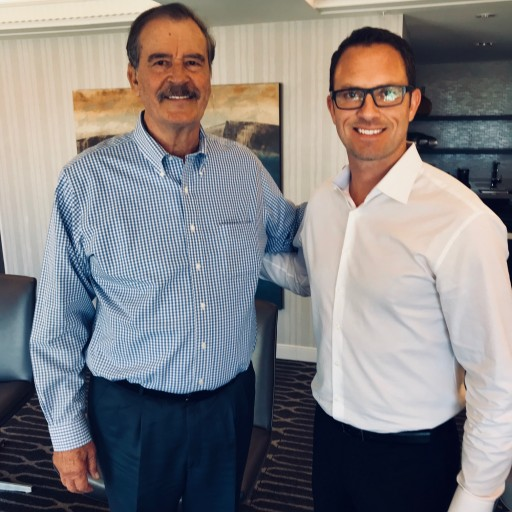 Pot CEO Meets With Former President of Mexico Vicente Fox