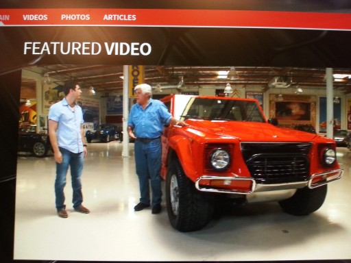 Watch 'The Carfather' Franco Barbuscia & Son Damiano's Special Guest Vehicle on Jay Leno's Garage Today at 10:00pm Eastern & 7 Pm Pacific Time on CNBC
