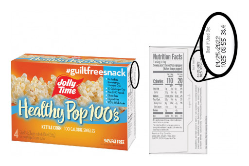 JOLLY TIME® Pop Corn Issues Allergy Alert on Undeclared Milk in Healthy Pop® Kettle Corn 100's (4 Count)