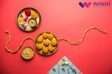 winni rakhi celebration