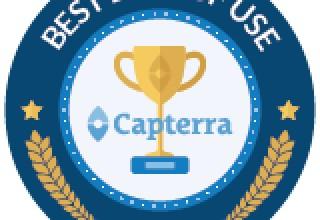 Capterra Badge: Best Ease of Use