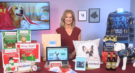 Pet Expert Kristen Levine Visits TipOnTV to Share Pet Gift Ideas for the Holidays