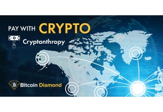 Pay with Crypto at Cryptanthropy