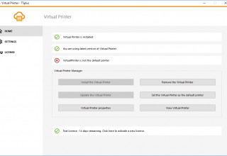 Easily Manage The Virtual Printer settings from the Central TSplus Interface