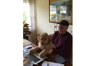 Author and his Assistant