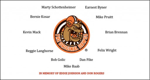 "Join ""The Original Dawgs"" for the 30th Anniversary Reunion of the  Legendary ""86"" Cleveland Browns"
