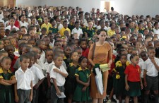 Some 1,300 students of Heide Primary School in Heidedal, South Africa, learned the truth about drugs January 23 in a presentation done by the Foundation for a Drug-Free Africa.