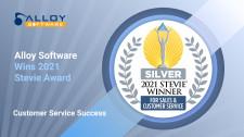Alloy Software 2021 Stevie Award