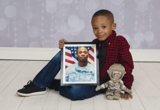 Christopher Frison, son of Demetrius Frison, KIA 5.10.2011