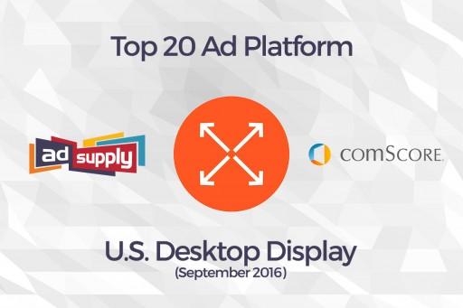 AdSupply, Inc. Breaks Into comScore Top 20 Ad Network List