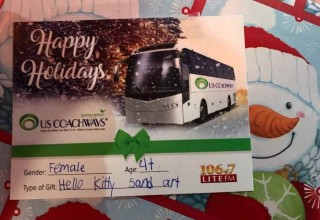 US Coachways Holiday Bus