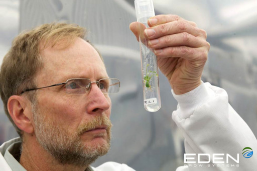 Former Kennedy Space Center Plant Research Director Dr. Gary Stutte Joins Eden Grow Systems