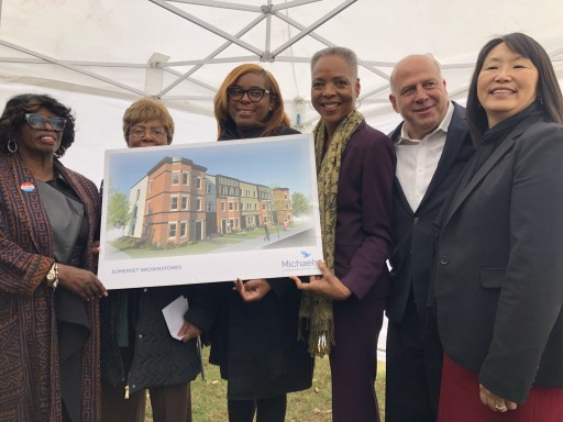 CITY OF NEWARK CELEBRATES GROUNDBREAKING FOR SOMERSET BROWNSTONES