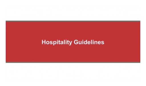 New Additional Guidelines for Noisy Hotels and Soundproof Products