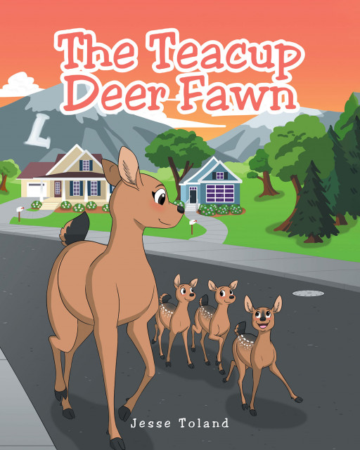 Author Jesse Toland's new book, 'The Teacup Deer Fawn', is a heartwarming tale of an injured baby deer who finds help with a strange two-legged bunch