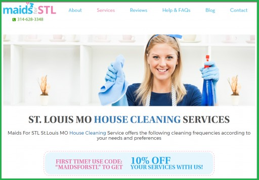 MaidsForSTL Has Now Become the Most Leading Cleaning Services Firm in St. Louis, MO