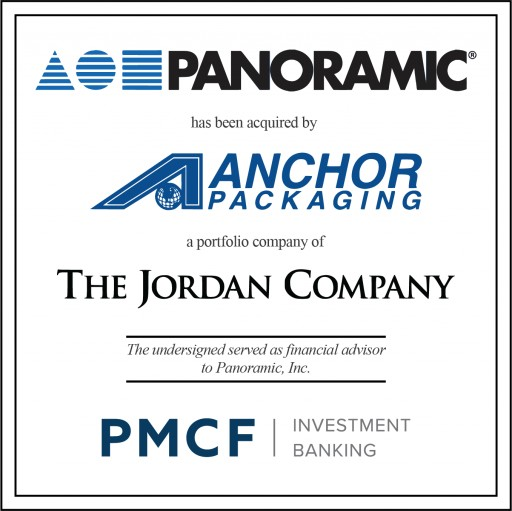 PMCF Advises Panoramic in a Sale Transaction With Anchor Packaging