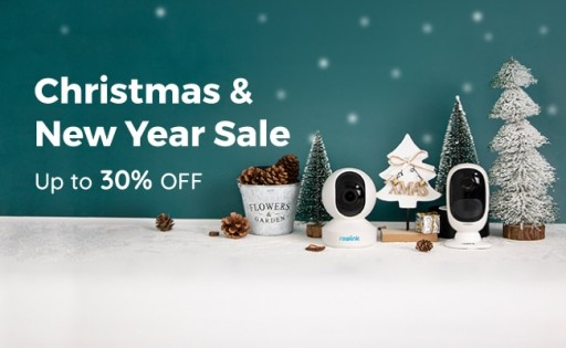 Reolink Cranks Up Holiday Cheer With Christmas & New Year Sale 2019, Offering Up to 30% Off on Security Cameras and Systems