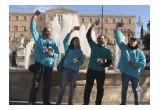Volunteers from the Church of Scientology Athens held a drug-prevention rally January 15, 2017, in Syntagma Square, where they handed out thousands of copies of the Truth About Drugs booklets.
