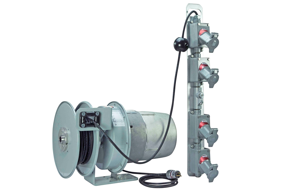 Larson Electronics Releases Explosion Proof Cord Reel W/ 50