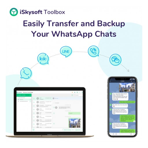 Product Release: iSkysoft Toolbox Restore Social App Now Available for Mac to Manage WhatsApp Data