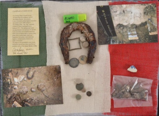 Relics From Historical Alamo Dig to Be Auctioned Saturday