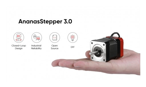 WOW Announces the Launch of Its Latest High-Precision Servo Stepper AnanasStepper 3.0 for Multi-Axis Control