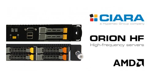 CIARA Technologies to Provide AMD-Based, Extreme Low Latency, Accelerated Server Solutions Designed for the High Frequency Trading Market
