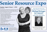 Flyer for the Senior Resource Expo.