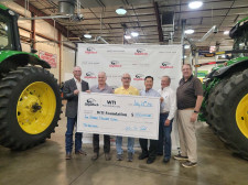 Mick Todd's Donation to WyoTech