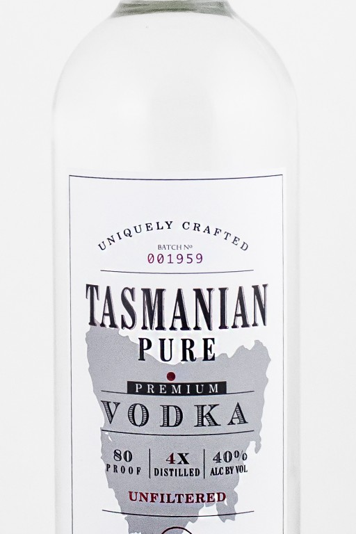 Tasmanian Pure Vodka™ Launches in the United States