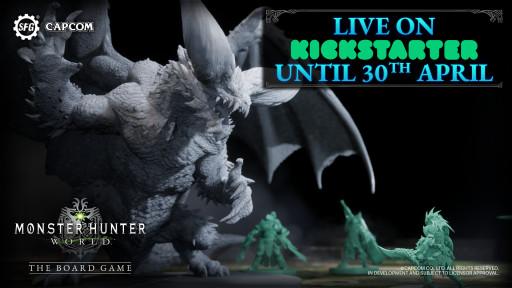 Backers Pledge Over $4m for Monster Hunter World: The Board Game