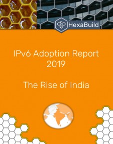 HexaBuild 2019 IPv6 Adoption Report Cover Page