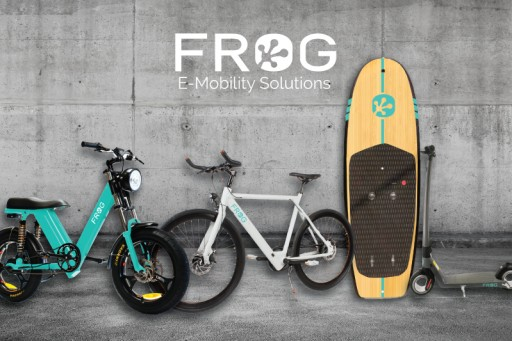 Frog Encourages Riders to Get Outside, Expands New E-Mobility Consumer Products to Include Scooter, E-Bike and Water E-Mobility