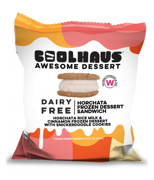 Coolhaus Issues Voluntary Recall on Dairy Free Horchata Frozen Dessert Sandwich