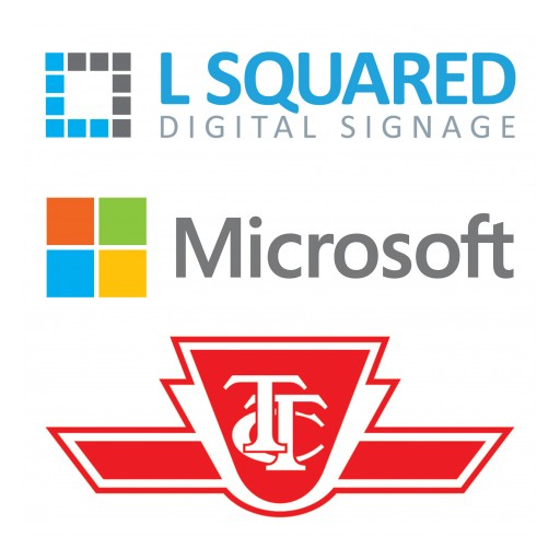 L Squared Awarded Corporate Digital Signage Contract From the Toronto Transit Commission