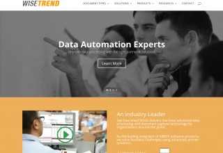 Upgraded Website from WiseTREND OCR & Data Capture, Inc.